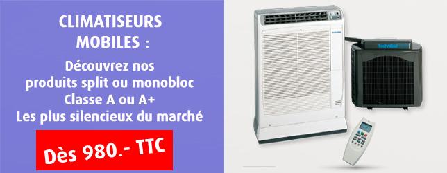 Achat climatiseur mobile : tout ce qu'il faut savoir en terme de puissance énergétique et de BTU