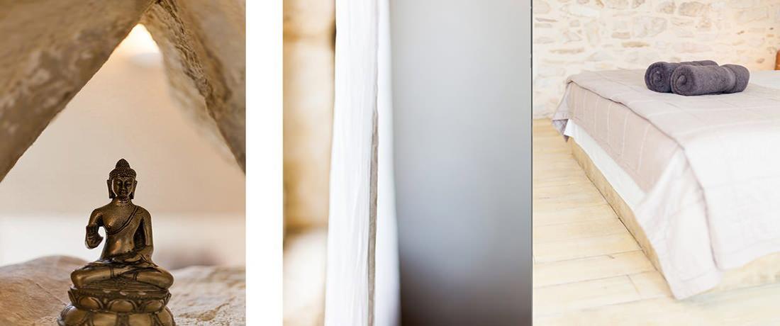De romantiques chambres d'hôtes en Provence
