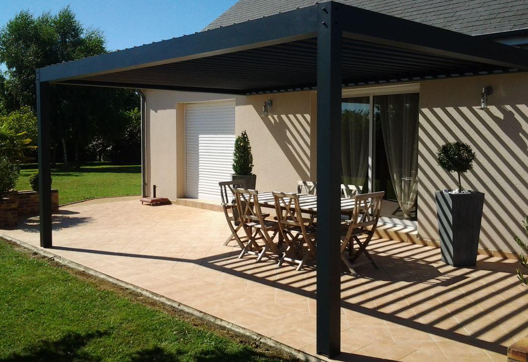 La pergola bioclimatique : le complément idéal de la maison